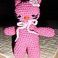"""Amigurumi-Katze """"Hello Pinky"""""""